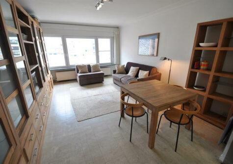 Gemeubelde studio te Knokke op 50m van het strand en nabij het Rubensplein