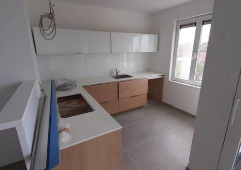 Doorloopappartement op de 2e verdieping in residentie aan station Evergem