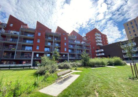 Appartement met 2 kamers en ruim terras aan Dok Noord
