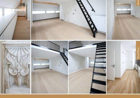 Ruim duplex-appartement nabij Sint-Pietersstation te Gent