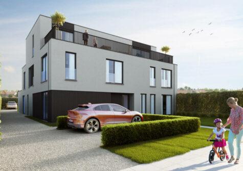 Aangenaam stijlvol appartement op de eerste verdieping in een kleinschalige residentie te Deinze