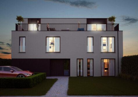 Unieke penthouse met reusachtige terrassen te Deinze